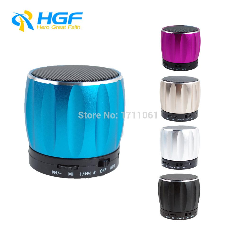 2015 High Quality Metal Bluetooth Speakers Mini Digital Speaker Portable Mini Speaker with FM Radio Support TF Card Mp3 Player(China (Mainland))