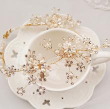 Quality bride hair accessory marriage accessories wedding accessories alloy rhinestone