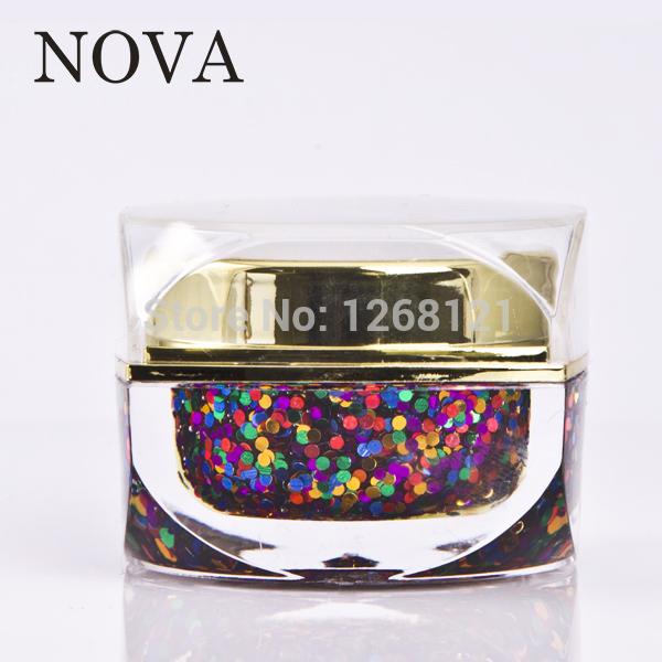 NOVA hot sale 240 colors color gel nail polish(China (Mainland))