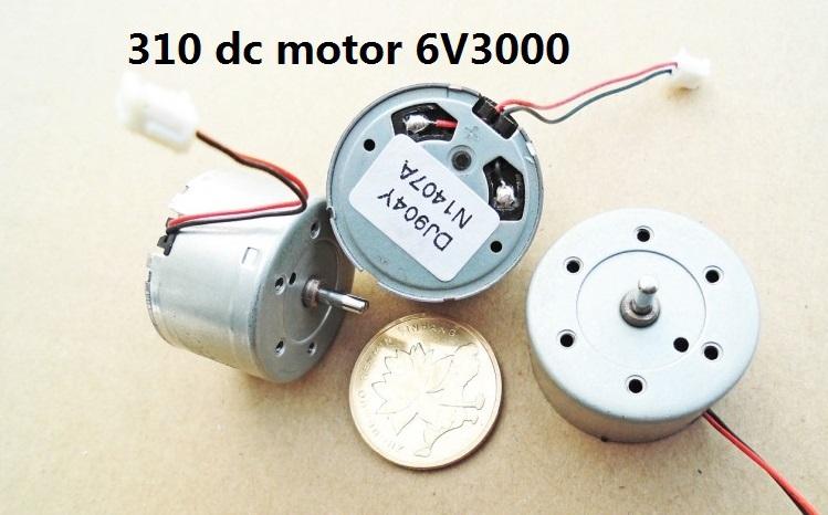 Industry & Business Machinery DC Motor new 310 motor 6V3000 turn solar small motor free shipping(China (Mainland))