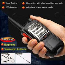 2 pcs 2015 New Free Shipping Portable Cheap Walkie Talkie Sets 8W  plug  Interphone BaoFeng  Two-Way Radio