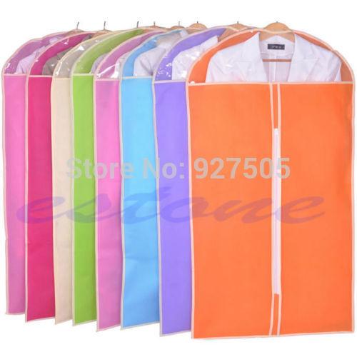 Pop Garment Bag Dress Clothes Jacket Coat Cover Dustproof Closet Home Supplies