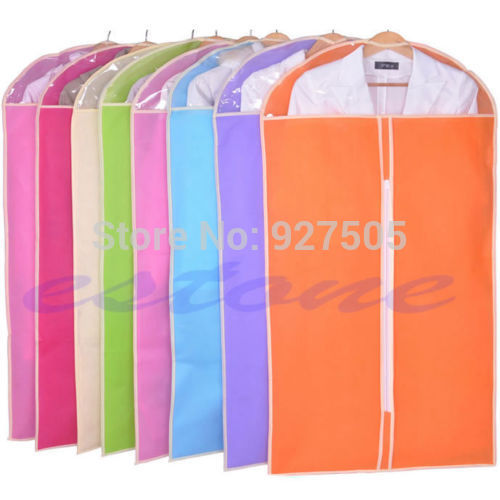 B39 2015 newest Dustproof Breathable Dress Suit Jacket Cover Coat Clothes Garment Storage Bag free shipping(China (Mainland))