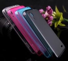 New Style Original TPU Cover For Lenovo S720 S720i Phone Case High Quality Candy Jelly Color Silicone Soft(Gift Touch Pen)