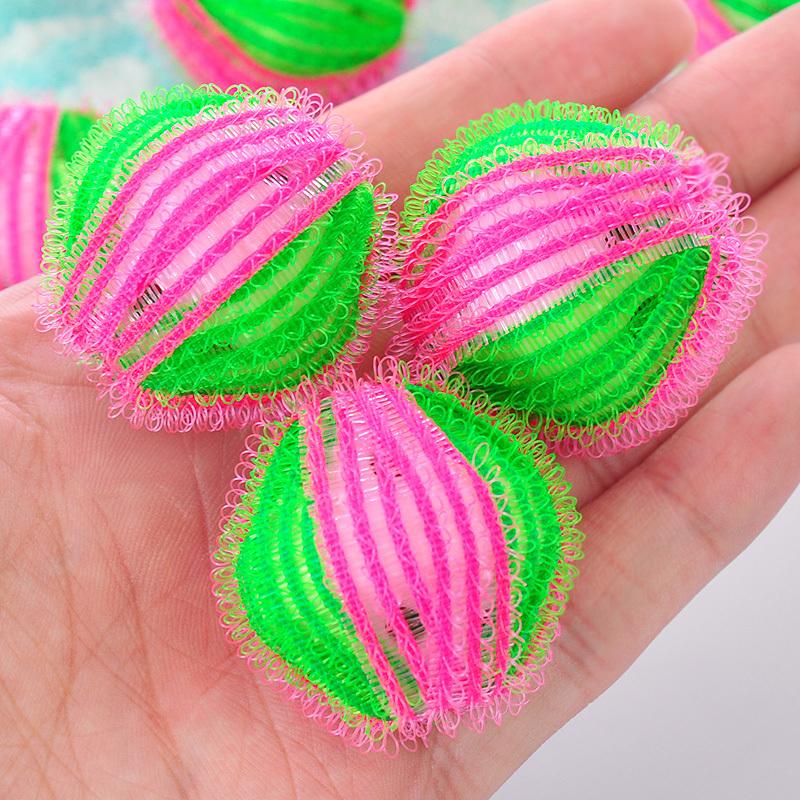 3.5cm Magic Hair Removal Laundry Washing Ball Personal care Hair Washing Ball Eco Friendly Clothes Laundry Ball(China (Mainland))