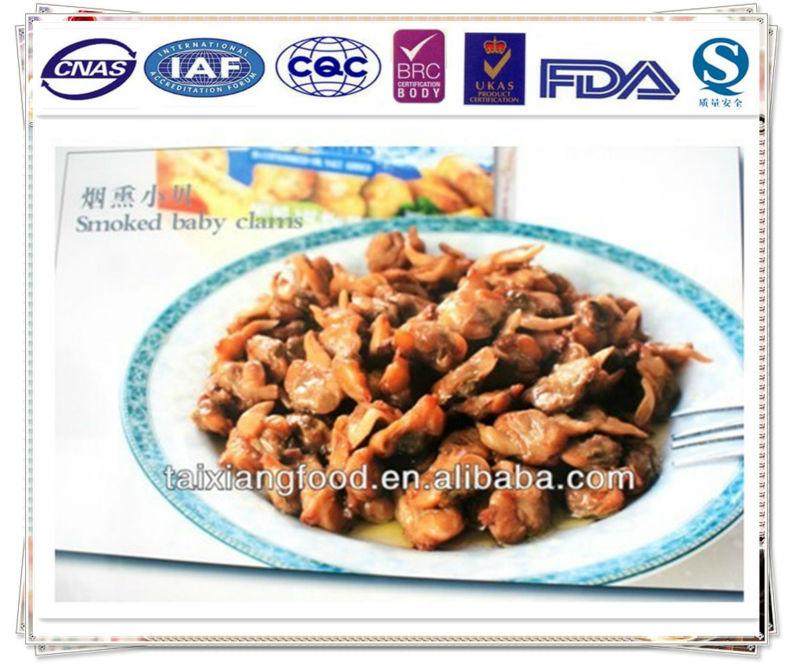 Compra de almejas en conserva online al por mayor de China ...