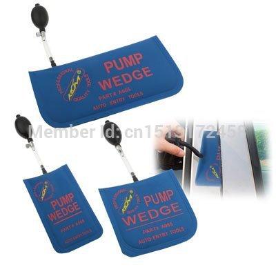 S / M / L Size Inflatable Air Pump Air Wedge Set LOCKSMITH TOOLS Lock Pick Set.Door Lock Opener Medium size 15X15CM(China (Mainland))