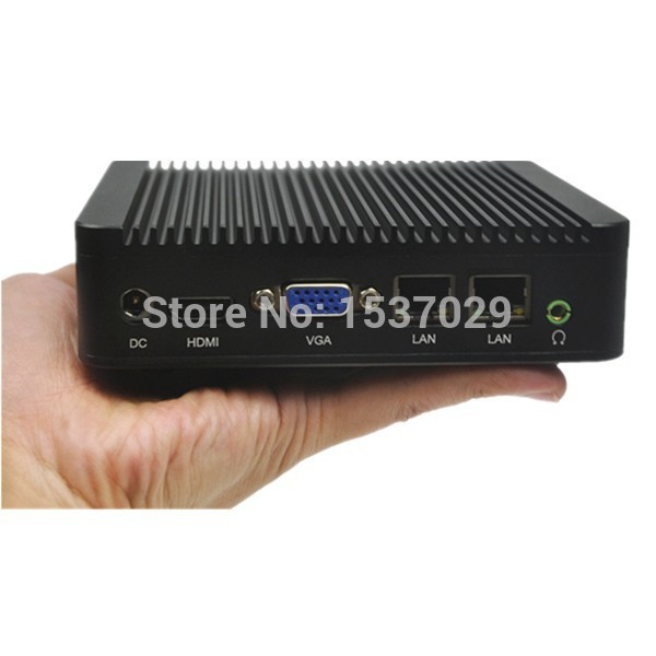 Hot selling mini pc dual Lan processors celeron 1037U 12V 4G ddr3 ram and 16G SSD gaming pc small desktop industrial fanless pc(China (Mainland))