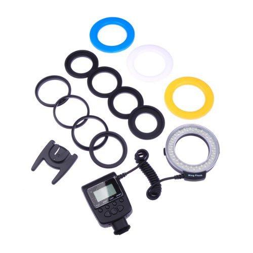 48 Macro LED Ring Flash RF550D for Nikon Canon DSLR Camera(China (Mainland))