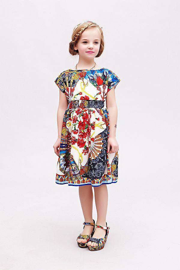 Платье для девочек WL.monsoon 2015 Vestidos 8789