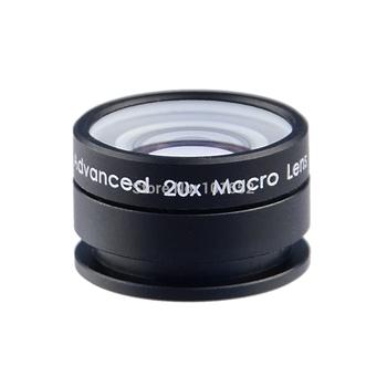 Универсальный макросъемки линзы 20X супер макро-объектив для iPhone мобильный телефон объектива камеры для Samsung Galaxy S3 S4 APL-20XM