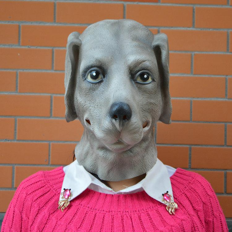 The twelve zodiac dog dog headgear mask mask Halloween cos animal caps show model fashion show(China (Mainland))