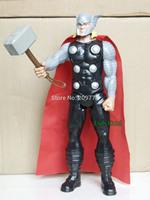"Marvel Avengers Assemble Titan Hero Series Thor 12"" Action Figure Loose"