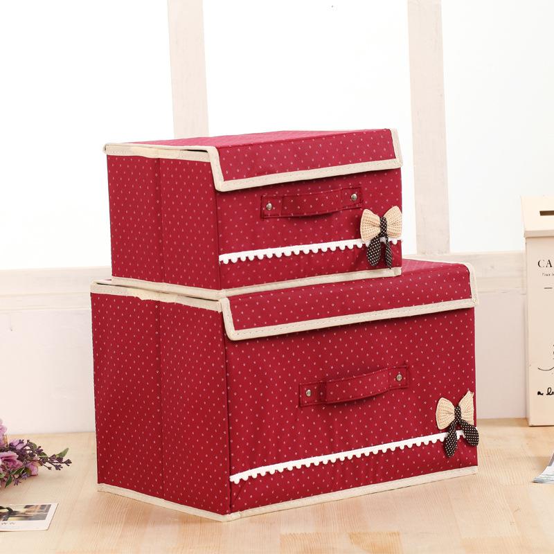 Clothes storage box set decorative cardboard boxes diy box storage