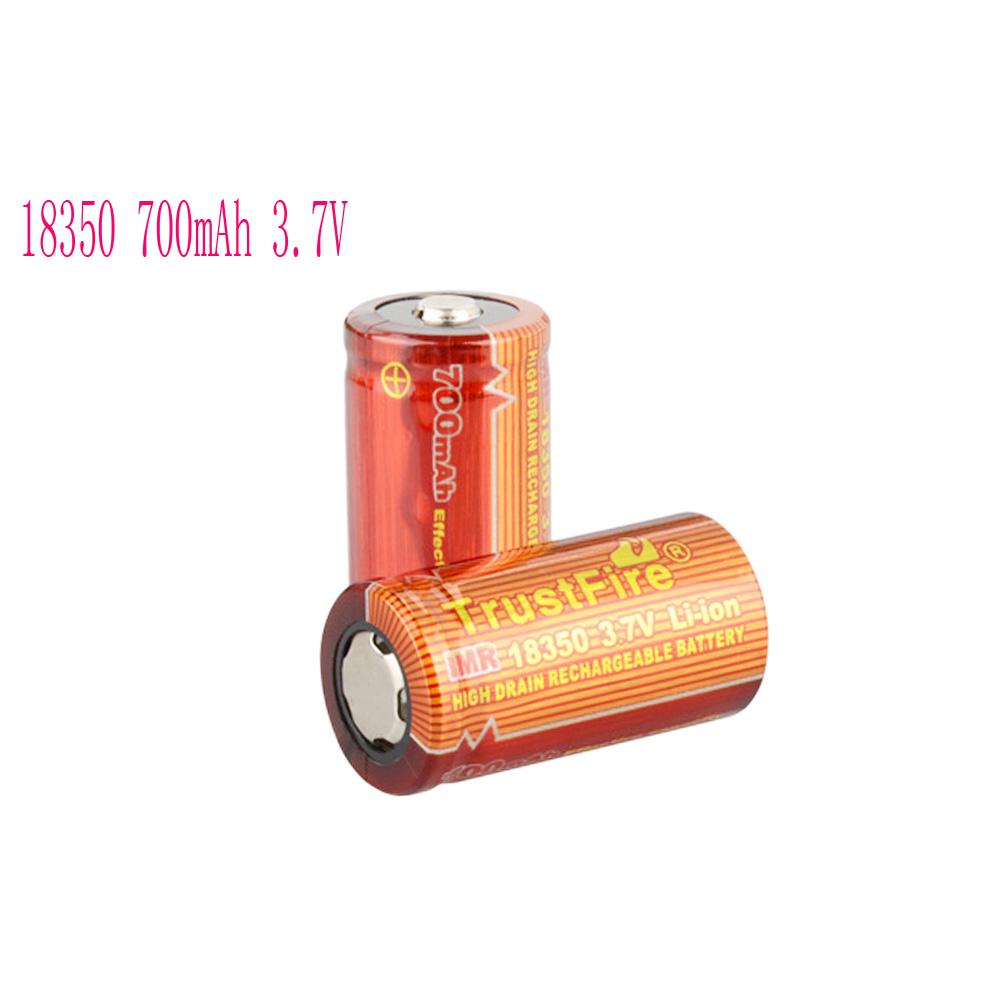 Аккумулятор TrustFire 2 18350 700mAh 3.7V аккумулятор trustfire 2 18350 700mah 3 7v