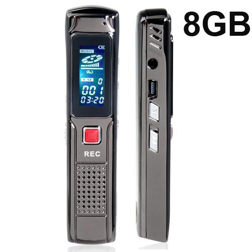 Цифровой диктофон EDOEM 8 1.1 LCD USB MP3 SKU-LYBGH809 цифровой диктофон oem 8gb usb mp3 150 jack 372