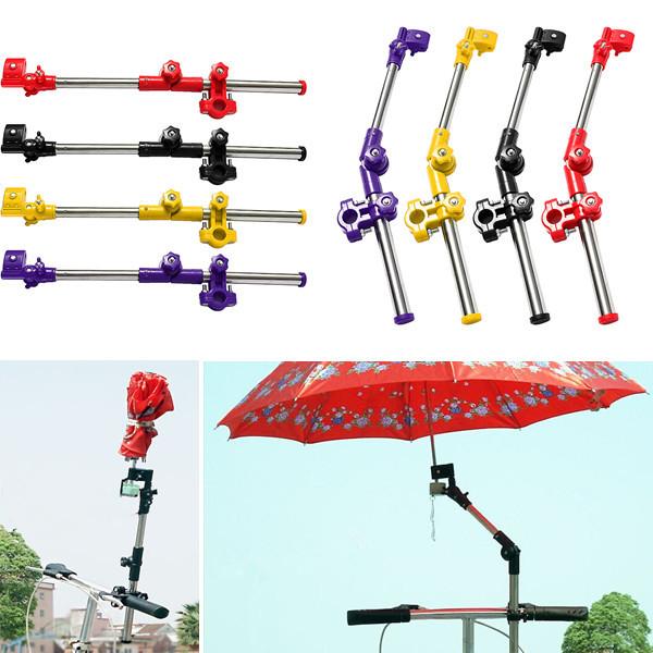 Велосипед кресло коляска стул зонтик держатель коннектор стойка сторонником нержавеющая сталь Multiused стоит