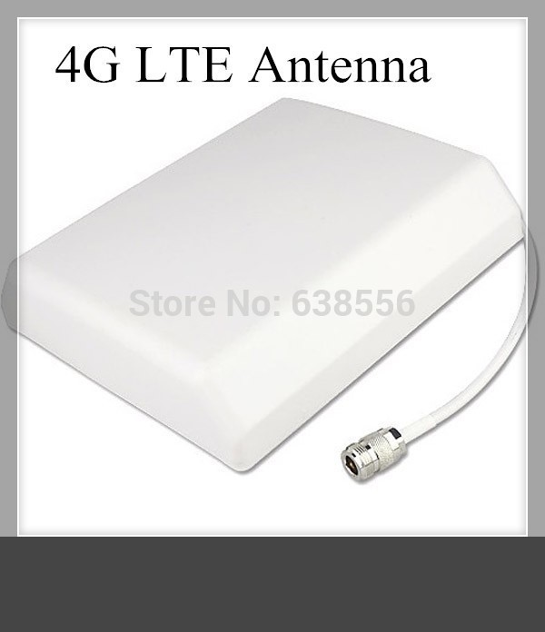 10dBi Outdoor Full Band 4G Wall Panel Antenna 700 2700Mhz for Cell Phone Signal Booster Repeater