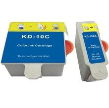 KD-10BK,10C Inkjet Cartridge For kodak printer 6150/7250 3250/5100/5300/5500/5250,Free Shipping