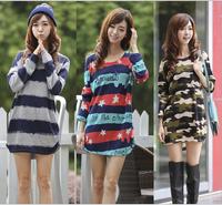 94 kinds of style t-shirt Women tops tees women Loose cartoon t shirt Short Sleeve Women's batwing sleeve summer Printed TShirts