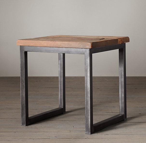 Acheter fran ais mobilier rustique r tro - Customiser table basse en bois ...