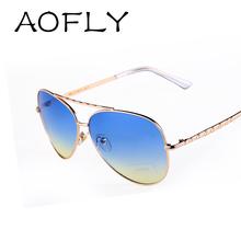 2015 Newest Brand Designer Women Sunglasses Fashion Gradient Aviator Sunglasses Women Men gafas oculos de sol