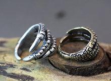 Wholsale 10PCS New Style Retro Burnished Eagle Toe Ring Animal Woodland Unique Ring Halloween Item Fashion