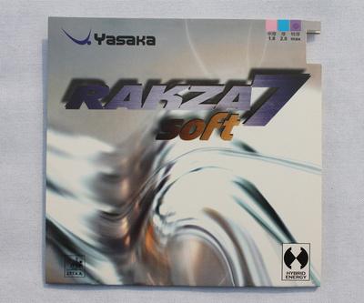 YASAKA RAKZA7 soft ( RAKZA 7 soft, rk 7 soft ) table tennis rubber yasaka table tennis racket indoor sports wholesale promotion(China (Mainland))