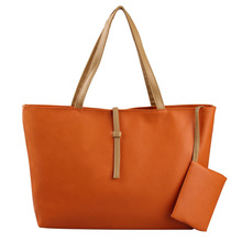 Ventas de la fábrica 2015 bolsos , bolsos bolsas mayoristas Pu de cuero del mensajero del diseñador moda mujeres bolsos de hombro(China (Mainland))