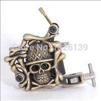 HOT sell Skull Art Tattoo Machine & Tattoo Guns for Tattoo kits Supplies free shipping(China (Mainland))