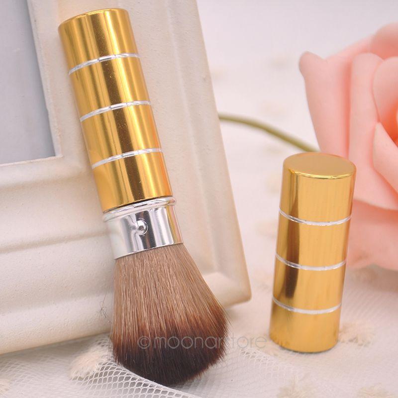 Drop Shipping 1PC Retractable Dome Blush Brush Eyeshadow Concealer Brusher Blush Brush Make-up Tools J*60CHJ0060#C6(China (Mainland))