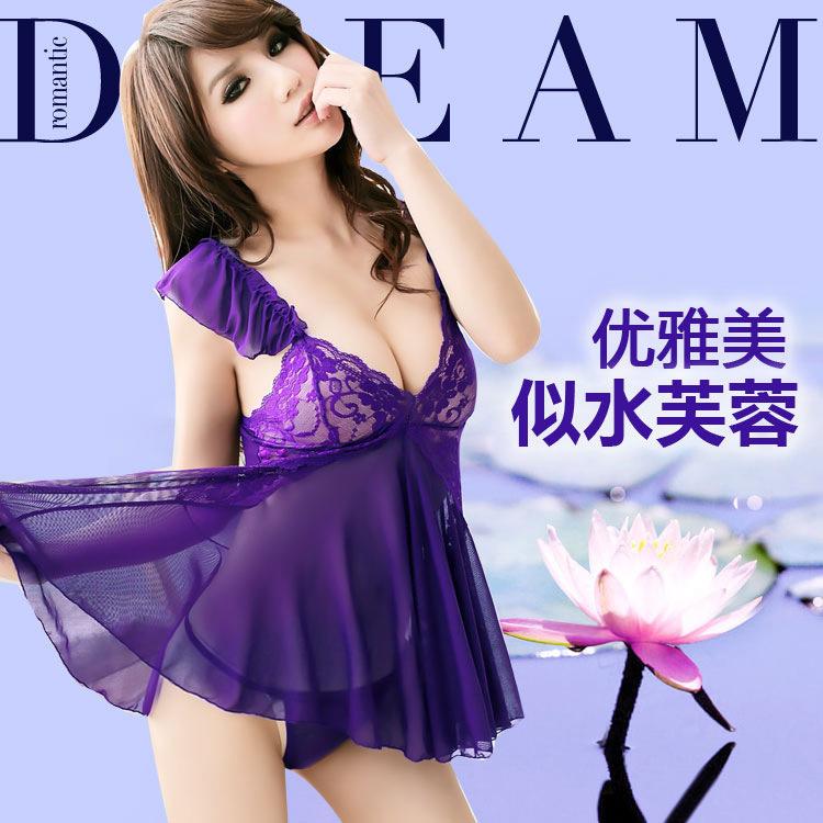 Женские ночные сорочки и Рубашки NONE Sexy Women 015010 женские ночные сорочки и рубашки gl brand babydoll halterneck prod num 4732
