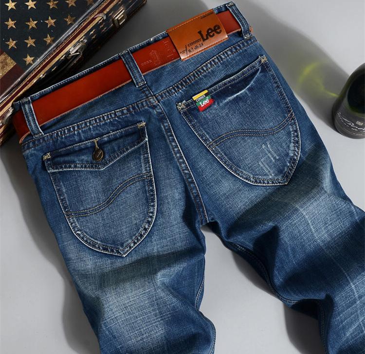 Aliexpress.com : Buy CONNER LEE jeans men back pocket fashion ...