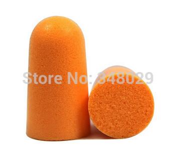 50 pairs Foam soft ear plugs noise reduction earplugs Noise Prevention Earplugs Tapered noise reduction earplugs free shipping(China (Mainland))