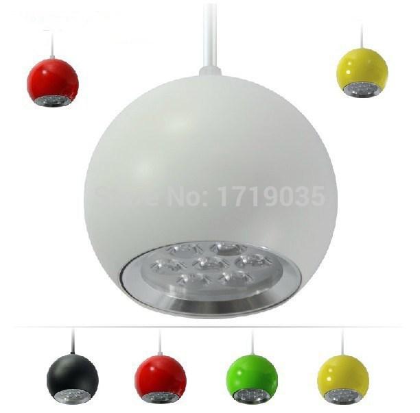 4pcs/lot 5W 7w 9w 12w 15w LED pendant lamp Apple series AC100-240V ceiling lamp Dining Table bar lights(China (Mainland))