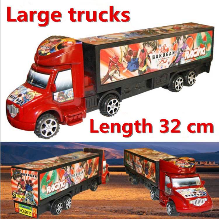 Toy Vehicles, children's cartoon model Big trucks toys, retail, wholesale, free shipping(China (Mainland))