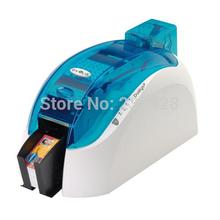 Evolis Pebble 4 PVC ID IC data card printer double side