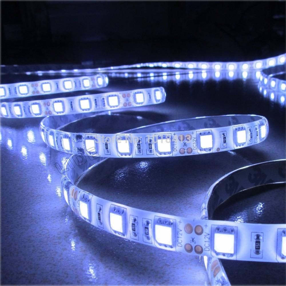 Светодиодная лента 1 60 5050 SMD 1 /dc 12V  светодиодная лента 10 50 50 12v 30 smd 5050 v