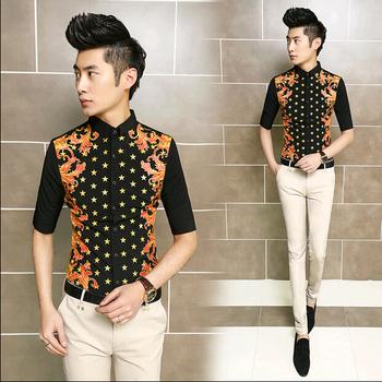 Vintage Men's Designer Clothing Korean Summer Vintage