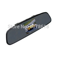 3.5 inch car mirror Monitor for Backup camera car monitor rearview mirror silver side 100% new panel Car Review System(China (Mainland))