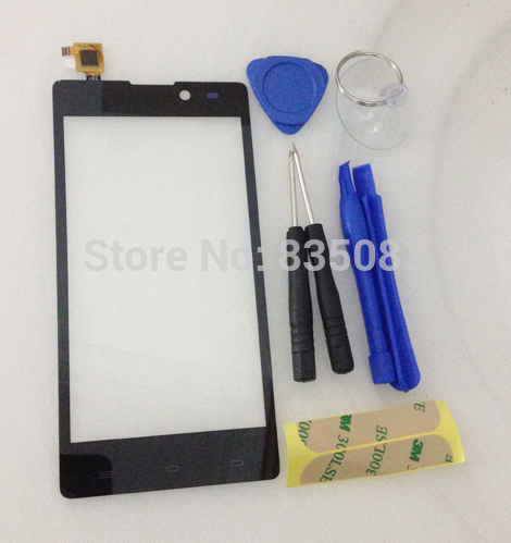 5 NEW Arrival Archos 50 Neon Capactive Wholesale Touch screen Digitizer front glass replacement Free Shipping