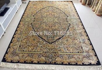 Оригинальный аладдин персидский ковер первый класс шелк ручной работы 2 м x 3 м бесплатная доставка