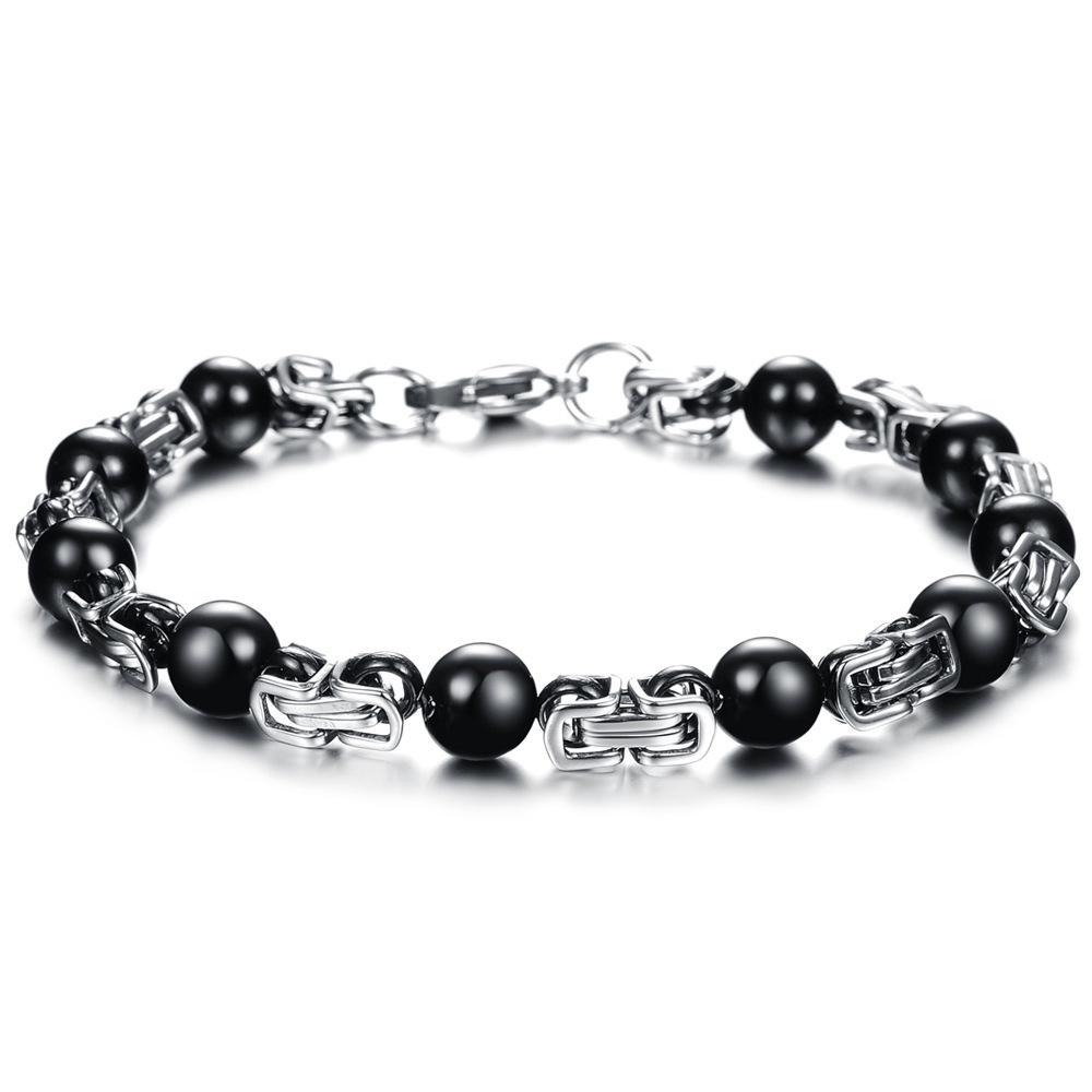 chain bead bracelet,bracelet hand chain for men(China (Mainland))