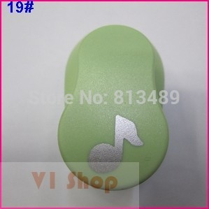 free ship music 15mm 5/8'' paper punch shapes craft punch diy puncher paper cutter scrapbooking punches scrapbook S29872(China (Mainland))