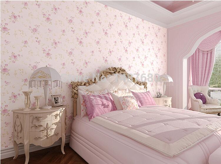 Online kopen wholesale roze roos bloem behang uit china roze roos bloem behang groothandel - Schilderij romantische kamer ...