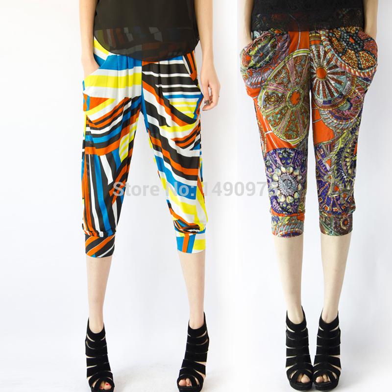 Unique Womens Pattern Harem Pants  Womens Sale  Abercrombiecouk