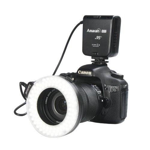 Aputure Amaran Halo AHL-HC100 LED Ring Flash Light For Canon Camera DLSR Cameras 5D MARK II III 650D 550D 700D 7D 5D2 60D(China (Mainland))
