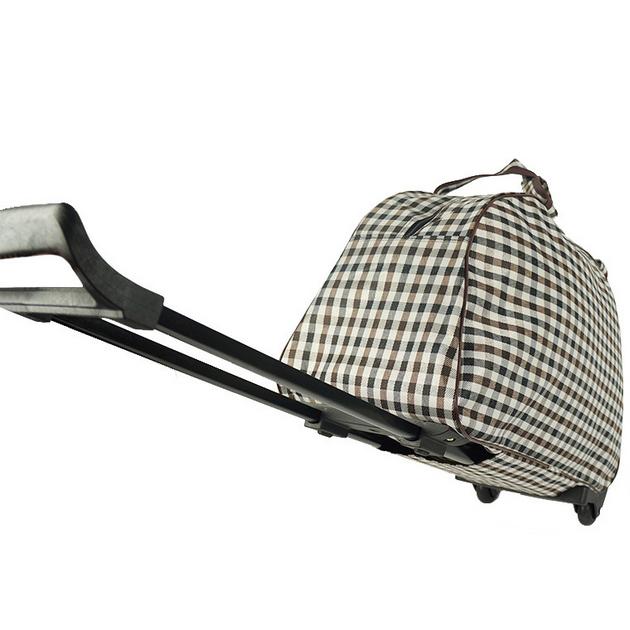 Duffle Trolley Bag Men's