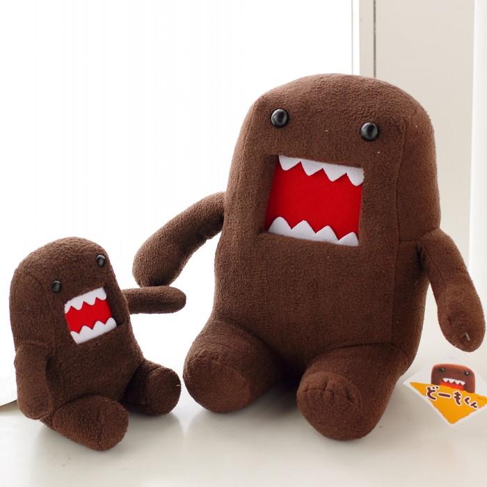 J.G Chen 2015 Hot Sale 18CM Domokun Funny Domo-kun Doll Children Novelty Creative Gift the Kawaii Domo Kun Plush Toys For Kids(China (Mainland))