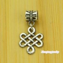 Free shipping!  25pcs Chinese Festival  Tibetan silver big hole pendant fit Pandora charm bracelet DIY pendant. XQ0080